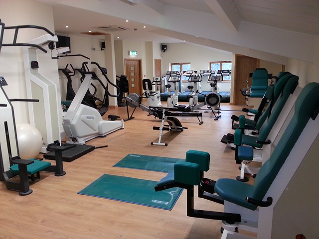 Gym at The Mill Fitness Suite Fiddington Bridgwater Somerset